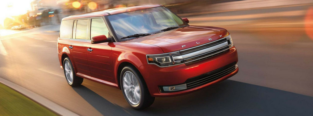 2017 Ford Flex Featured Image - Well, that's not hard to do with Ford's long list of 2017 Ford Flex exterior paint color options.
