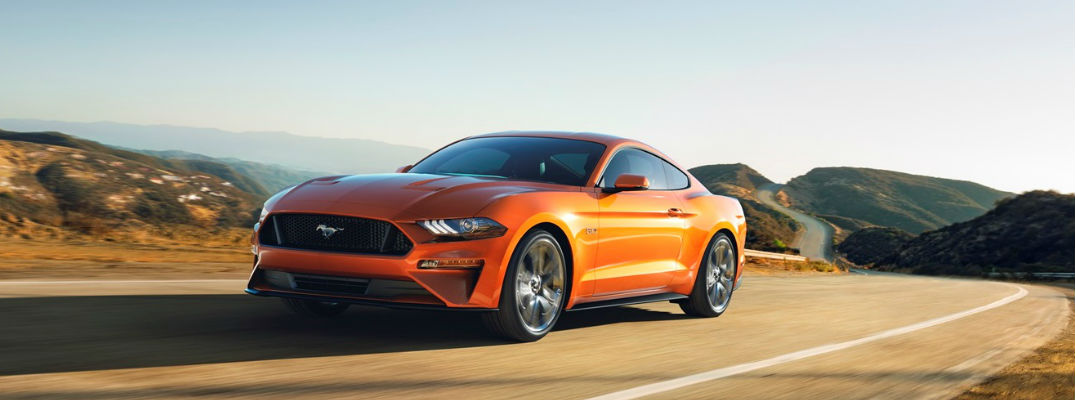 Orange Exterior - 2018 Ford Mustang GT Engine Specs and 0-60 MPH Info