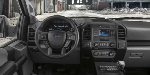 Driver view - Ford Has Created the First Pursuit-Rated Police Responder Pickup Truck