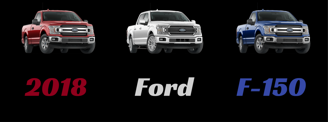 What are all of the color options for the 2018 Ford F-150?