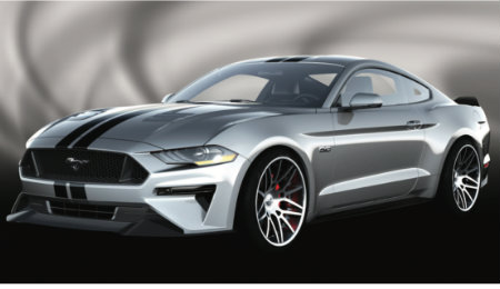 2018 Ford Mustang Fastback by Air Design front view
