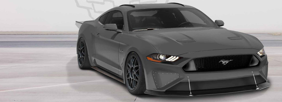 2018 Ford Mustang Fastback by Tucci Hot Rods front view