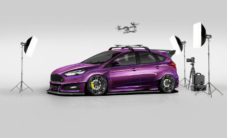 2017 Ford Focus ST created by Blood Type Racing Inc.