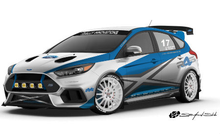 2017 Ford Focus RS created by Rally Innovations