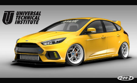 2017 Ford Focus RS created by Universal Technical Institute