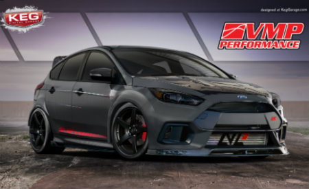 "2017 Ford Focus RS ""TriAthlete"" created by VMP Performance"