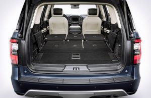 2018 Ford Expedition rear storage area seats folded down