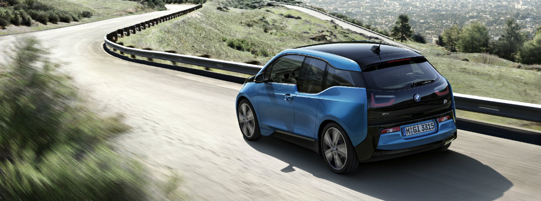 2017 BMW i3 on display at Chicago Auto Show