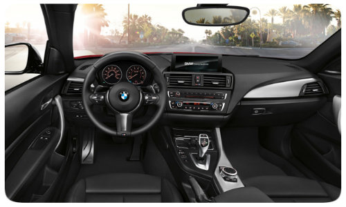 2017 BMW 2 Series interior