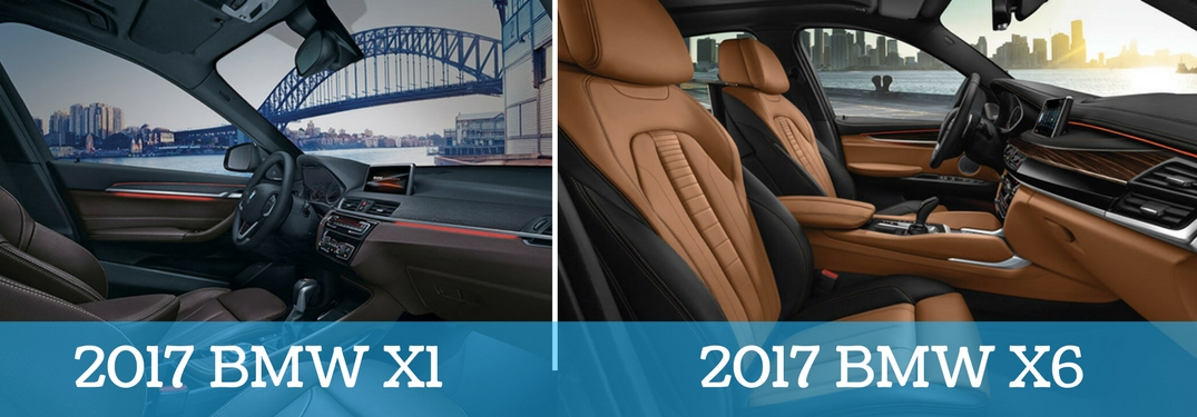 Whats The Difference Between The 2017 Bmw X1 And The 2017 Bmw X6