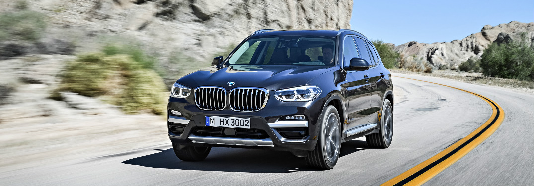 What driver assistance features does the 2018 BMW X3 offer?