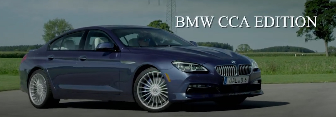 BMW ALPINA B6 xDrive Gran Coupe BMW CCA Edition Features