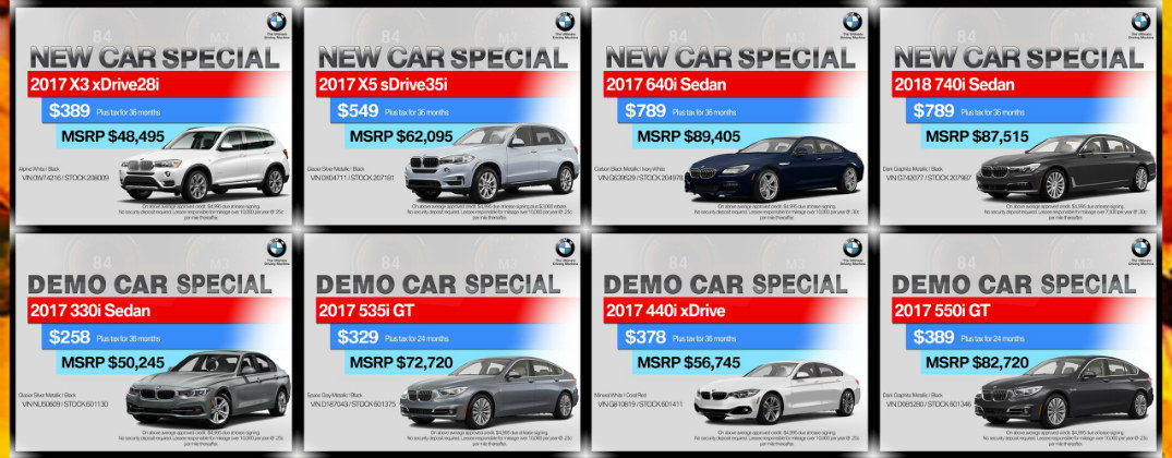 Pacific Bmw 2017 Fall Back Sales Event Glendale Ca
