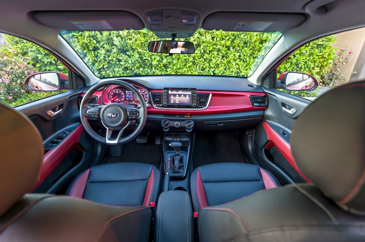 How Much Interior Space Is There In The 2018 Kia Rio