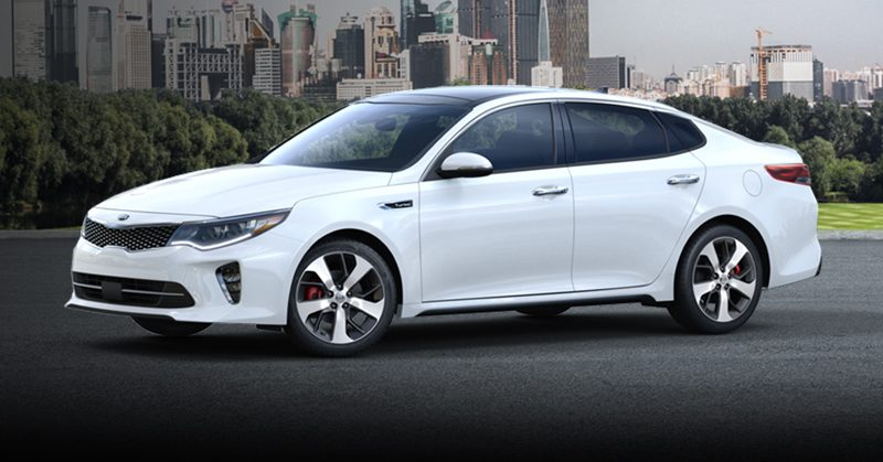 White Kia Optima >> The Newest 2018 Kia Optima Exterior Color Options