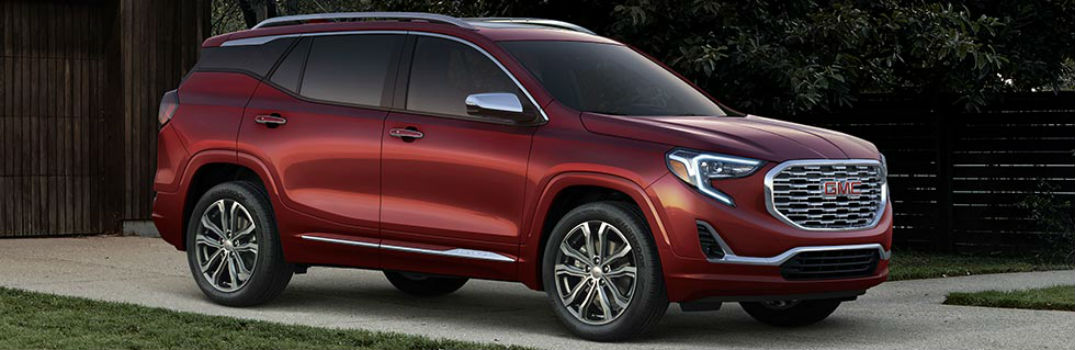 all new 2018 gmc terrain crossover trim levels pricing. Black Bedroom Furniture Sets. Home Design Ideas