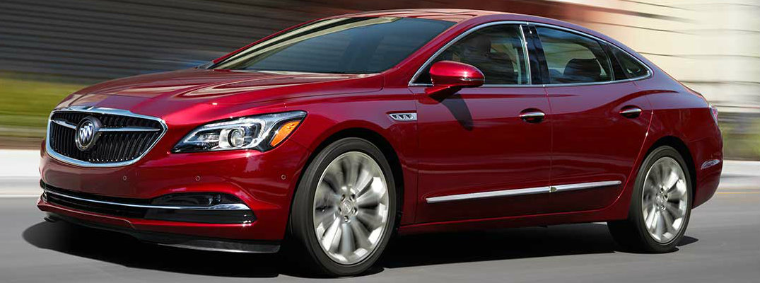 2017 Buick LaCrosse in Red