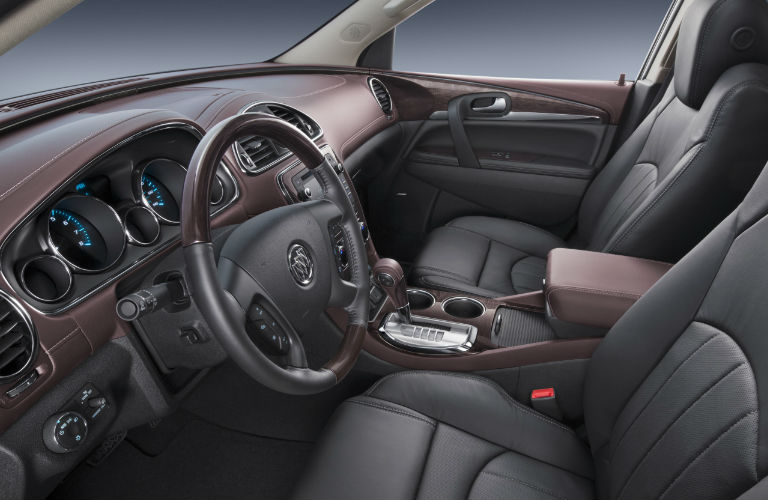 how many people can the 2017 buick enclave seat. Black Bedroom Furniture Sets. Home Design Ideas
