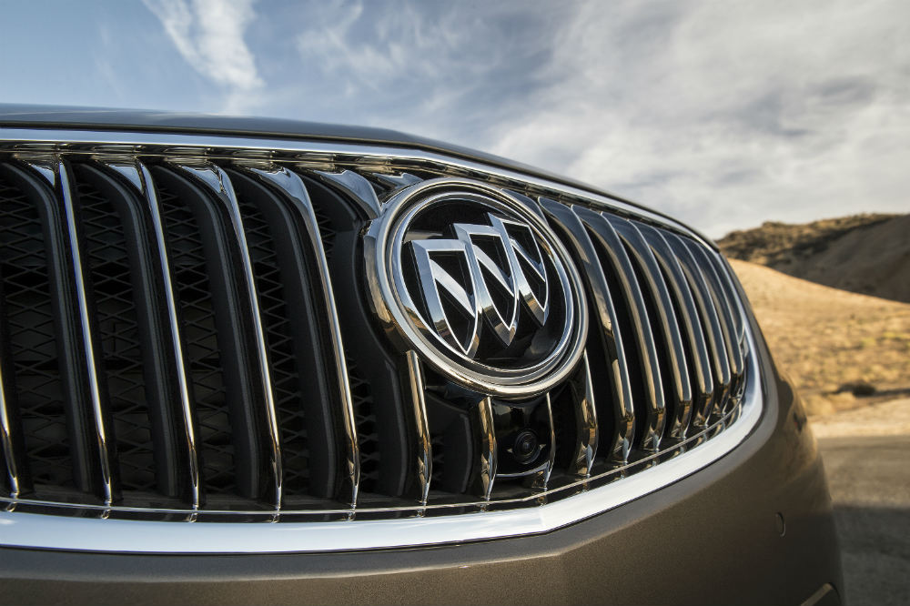 grille on the 2016 Buick Envision crossover