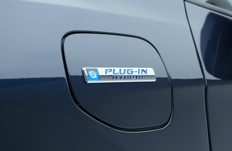 Plug view of the all-new 2018 Honda Clarity Plug-in Hybrid
