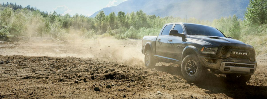 2017 Ram 1500 off-road capability