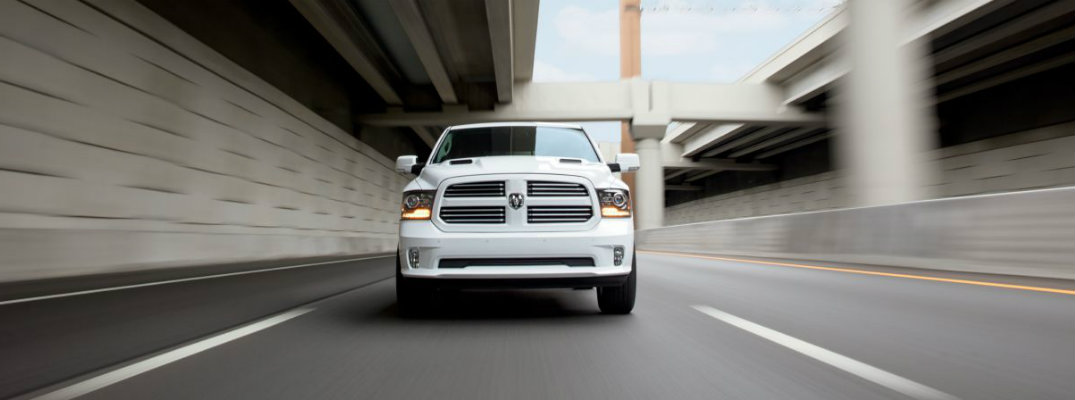 How many engines does the 2017 Ram 1500 come with?