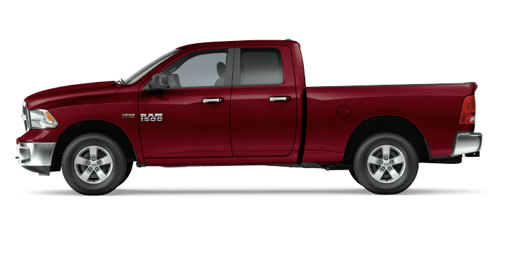 2017 Ram 1500 Red Pearl