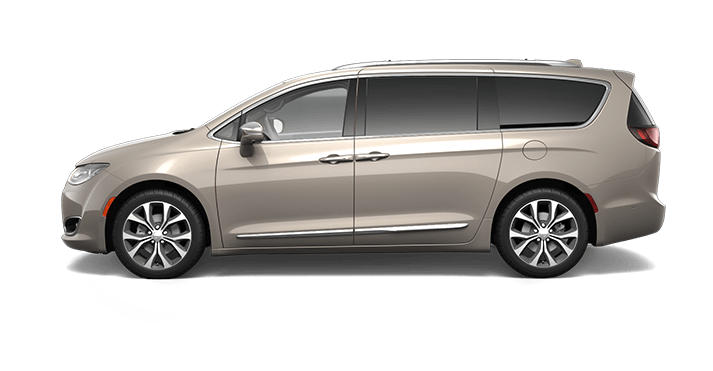2017 Chrysler Pacifica Molten Silver