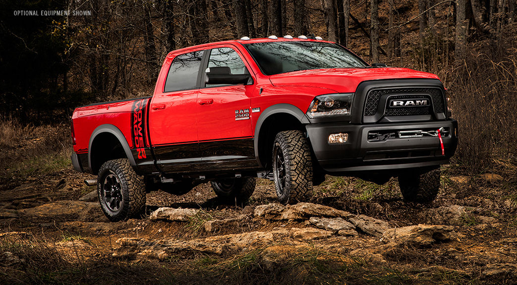 2017 Ram 2500 Power Wagon® engine specs