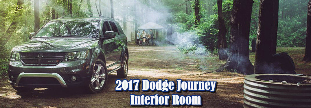 2017 Dodge Journey being used for camping