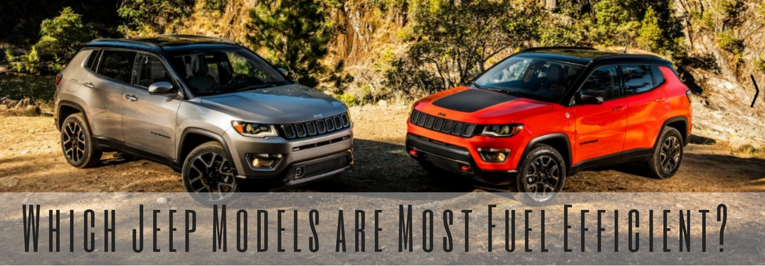 Which Jeep Models Are The Most Fuel Efficient?