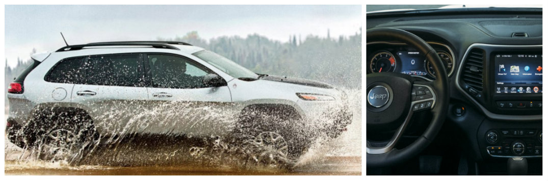 2017 jeep cherokee trailhawk off-road