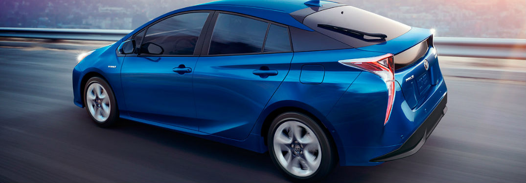2017 Toyota Prius Interior and Touch-Screen Features