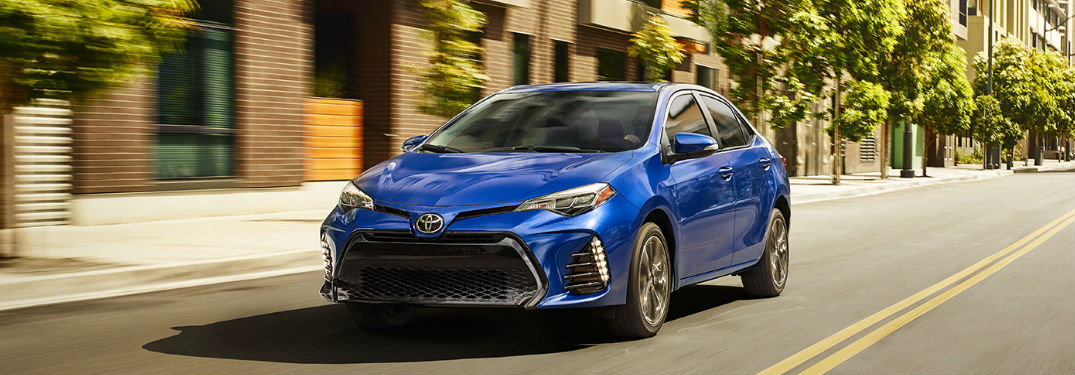 2017 Toyota Corolla Engine Specs and Gas Mileage