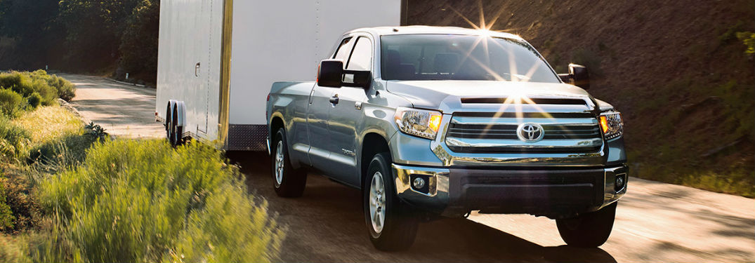 2017 Toyota Tundra Gas Mileage and Driving Range