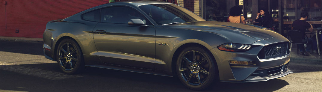 2018 Ford Mustang side