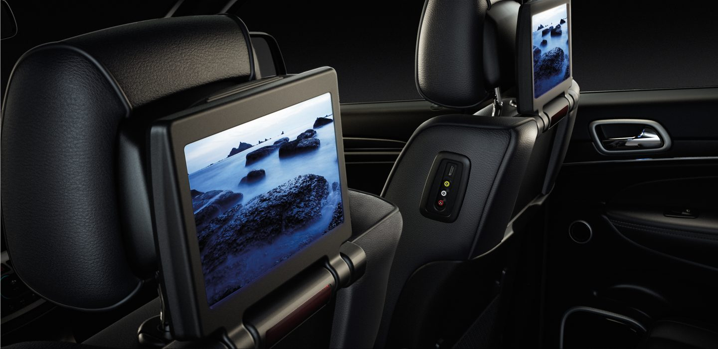 Does The 2017 Jeep Grand Cherokee Come With A Dvd Player