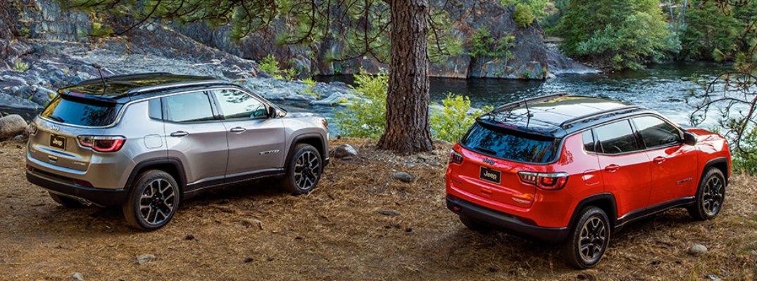 All New 2017 Jeep Compass Colour Options