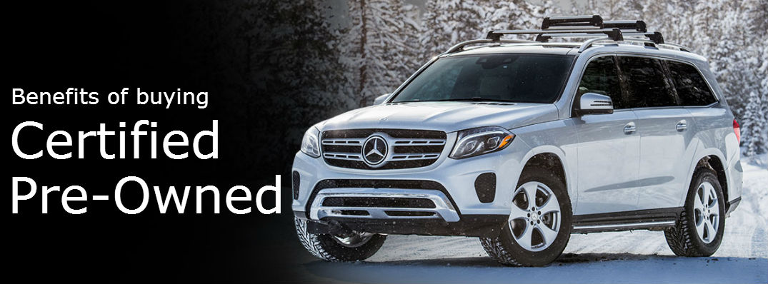 3 reasons to buy a certified pre-owned Mercedes-Benz