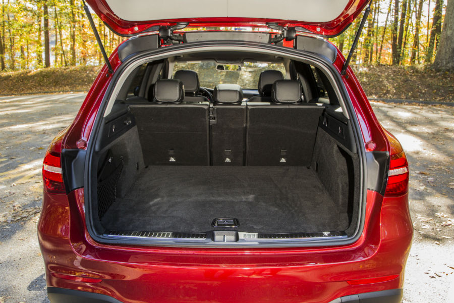 2017 Merecdes-Benz GLC SUV rear interior cargo space_o