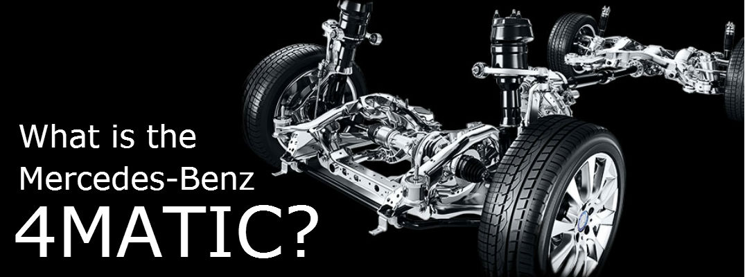 3 reasons why you need the Mercedes-Benz 4Matic