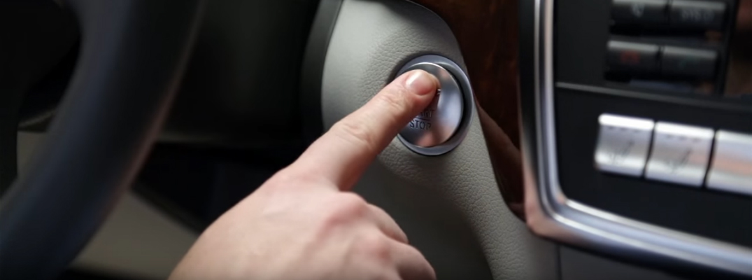 The Mercedes-Benz Push Button Start Feature Makes It Easy to Get In Your Car and Go