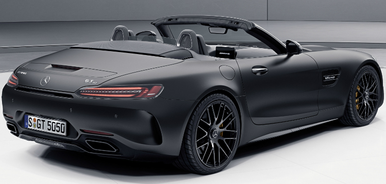 2017 Mercedes-AMG GT C Roadster Edition 50 Designo Graphite Grey Magno
