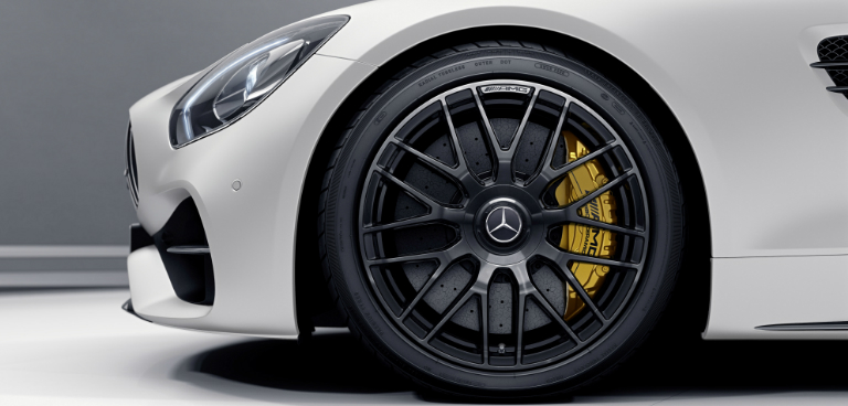 2017 Mercedes-AMG GT C Roadster Edition 50 Wheel