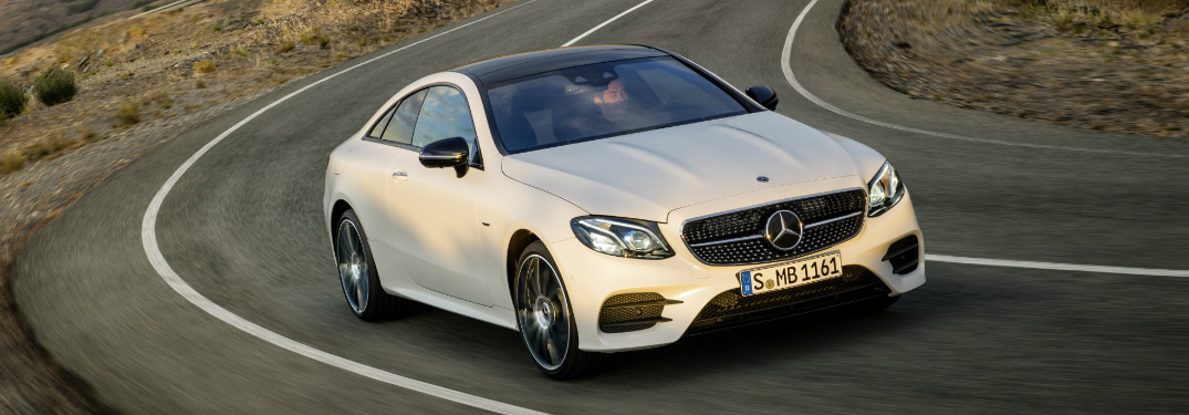 2017 E-Class Coupe Offers Effortless Smartphone Integration
