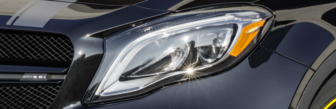 2018 Mercedes-Benz GLA LED High Performance Headlamps Features