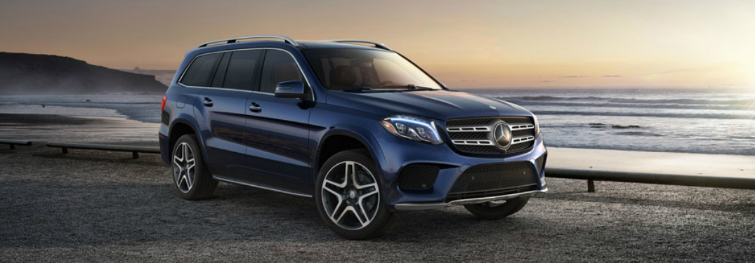 How many passengers can the 2017 Mercedes-Benz GLS seat?