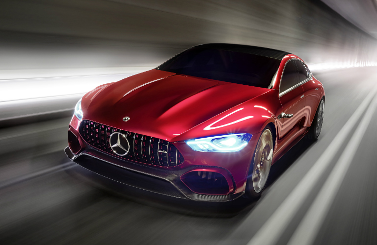 Innovative Hybrid Powertrain of Mercedes-AMG GT