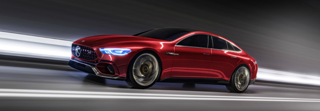 Mercedes-AMG GT Concept Features a High-Performance Hybrid Powertrain