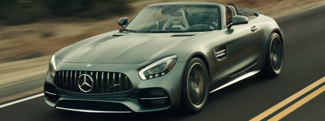 Watch Peter Fonda Mercedes-AMG GT Roadster Commercial
